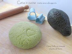 pasta frolla con avocado