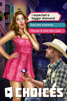 Play now and make YOUR Choice! Go to a romantic adventure where YOU control what happens. Find true love,  Dress to impress, Make your DREAMS come true✨  FREE DOWNLOAD!