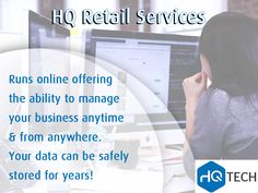 HQ Retail is a web-based software that runs online offering you the ability to manage your business anytime and from anywhere. Your data can be safely stored for years. Contact us: 0118051609 | info@hqtech.co.za #retail #management #ecommerce #website #webdevelopment #HQtech #business #IT #sales #technology #HQ #tech