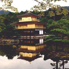 Kinkaku-ji (Golden Pavilion) Temple in Kyoto, Japan