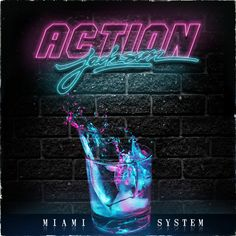 Action Jackson - Miami System EP [Cover] by Michael Brun, via Behance