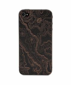 style #330498801 Topo Black iPhone 4/4S Cover