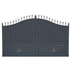 portail et portillon en fer forg occasion portail portillon pinterest. Black Bedroom Furniture Sets. Home Design Ideas