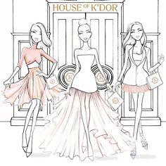 Aaron Favaloro fashion illustration