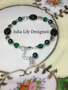 A personal favorite from my Etsy shop https://www.etsy.com/listing/498164988/st-patricks-day-bracelet-for-women-and