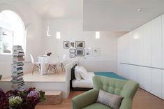 Salon et chambre dans la même pièce! 20 idées pour aménager un studio…