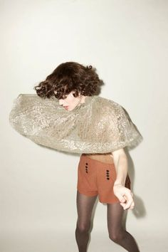 The fantastic Miranda July has devised a project called 'We Think Alone' where… Miranda July, Looks Street Style, Fashion Images, Strike A Pose, Madame, Get Dressed, Body, Fashion Photography, Dress Up
