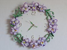Unique Wall clock orchids Cattleya Unique clock Home decor