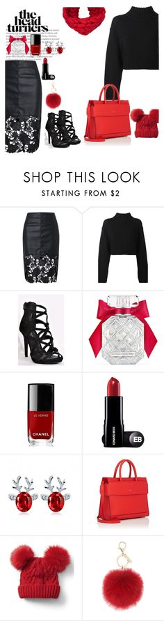 """""""2 days until Christmas ❤️ hint of magic❤️"""" by jrbcfashion ❤ liked on Polyvore featuring DKNY, Victoria's Secret, Chanel, Givenchy, Gap and L.K.Bennett"""