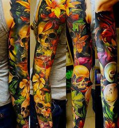 Tattooties presents the best Top 10 Sleeve tattoos made by the best tattoo artists around the world. Sleeve tattoos is a full tattoo from th...