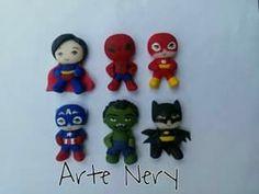 Super héroes .