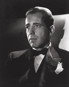 Humphrey Bogart photographed by George Hurrell in 1939