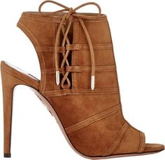"Aquazzura ""Oui Baby"" Ankle Booties"
