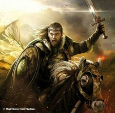 Theoden, King of Rohan by Magali Villeneuve