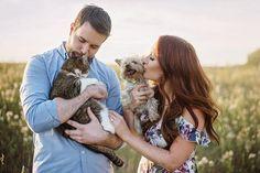 Engagement Shoots, Fur Babies, Couple Photos, Makeup, Instagram Posts, Photography, Couple Shots, Engagement Photos, Make Up