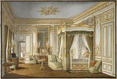 La Chambre à coucher de l'Impératrice Eugénie à Saint-Cloud, Jean-Baptiste Fortuné de Fournier