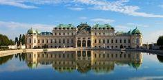 Österreich Wien Schloss Belvedere