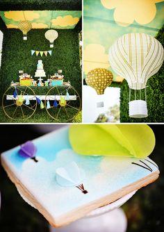 Vibrant & AMAZING Hot Air Balloon Festival Birthday