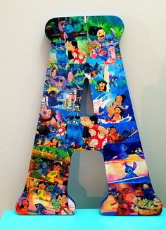 6abd9e95f0 18 Inch Disney s Lilo and Stitch Letter Decor! Made to Order. Perfect for  weddings