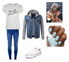 """""""Casual Night By The Fire"""" by lauren-25ellis on Polyvore featuring Dorothy Perkins, Converse and Tee and Cake"""