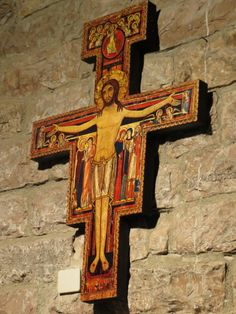 O Cross that commissioned St Francis, may you guide me too.