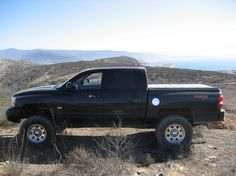 lifted dodge dakota truck | ... so far im the only one on lifted a newer Dodge Dakota to ride 35 s