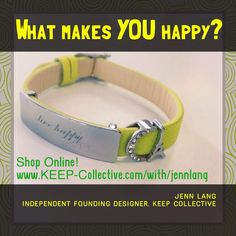 Like what you see? Shop right on my website or message me if you want to see some designs!  https://www.keep-collective.com/with/jennlang  #happy #behappy #livehappy  #jewelry #giftideas #keepjewelry