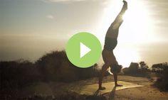 Beautifully shot, beautiful settings: A Lawyer-Turned-Yoga Surfer's Story (VIDEO). It's inspiring. Lovely. #yoga #inspiration #beautiful