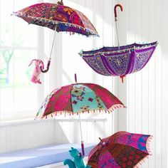 something about pretty umbrellas