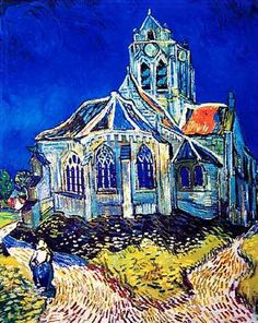Van Gogh Church at Auvers, probably 2nd favorite Van Gogh painting