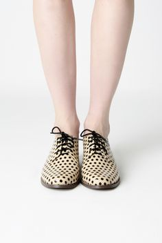 KLING - Oxford Dots Shoes... very Lichtenstein