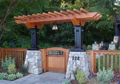 images about craftsman fence on Pinterest