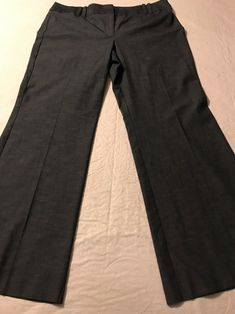 Ann Taylor Loft Blue Wide Leg Casual Pants Women's Stretch Size 14 X 31  | eBay
