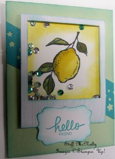 Stampin' Up! December 2014 Paper Pumpkin with SAB A Happy Thing