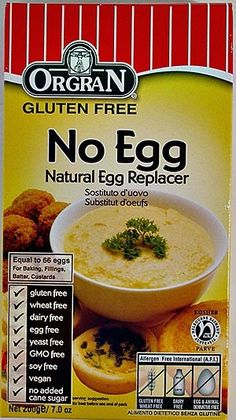 Replacement baking ingredient for those with Egg Allergies!
