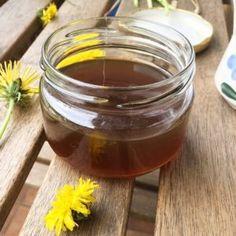 """Syrop z mniszka lekarskiego (z """"mlecza"""") - prosty i sprawdzony przepis - Pan Tabletka Honey, Kids"""