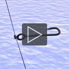 Da der Haken bei einer Drop Shot Montage nicht ans Ende der Schnur sondern mittendrin angebracht wird, braucht man dafür einen speziellen Knoten. Was muss ein