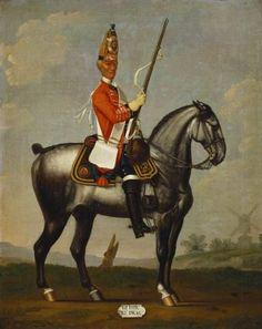 British; 2nd Royal North British Dragoons, 1751 by David Morier