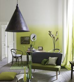 Interior Design Trends, Obsessed With Ombre | Saraille Wallpaper by Designers Guild | Jane Clayton