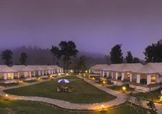 A full jungle experience which will leave you enthralled. It's an awesome experience to stay in a resort surrounded by jungles.  #17. Corbett Woods Resort, Ramnagar Best time to visit: Throughout the year Accommodation: Swiss Tent
