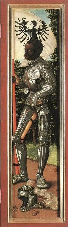 The Martyrdom of Saint Maurice. Some would portray him as a white man, when the earliest images of him are clearly of a black man.