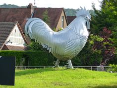 Dorking Cockerel on Deepdene roundabout !