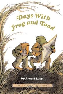 Days with Frog and Toad by Arnold Lobel. I loved reading Frog and Toad stories when I was little. In second grade our teacher had us write our own Frog and Toad story.