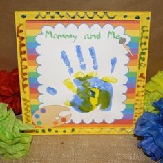 Fun Crafts, Crafts For Kids, Arts And Crafts, Handprint Art, Art Party, Childcare, Your Child, Back To School, Activities For Kids