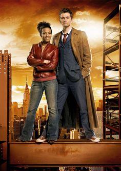Doctor Who 50th Anniversary Episode Guide Countdown - Daleks In Manhattan (David Tennant with Freema Agyeman as Martha) http://tennantnews.blogspot.com/2013/05/doctor-who-50th-anniversary-countdown.html