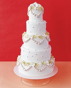 Brides: Unique Wedding Cakes :