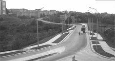 Sierpień 1972, ul. Puławska po wybudowaniu.
