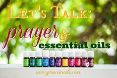 Are you using Essential Oils when you pray? Find out more on my latest blog post Let's Talk: Prayer & Essential Oils!