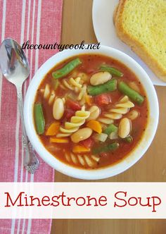 Minestrone Soup {so amazingly flavorful!}
