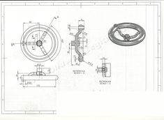 Cad Drawing, Line Drawing, B & B, Autocad, Letters, How To Plan, 2d, Technical Drawings, Car Engine